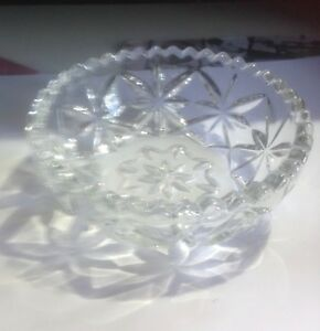 Independent Pressed Glass Bowl Decorative Arts