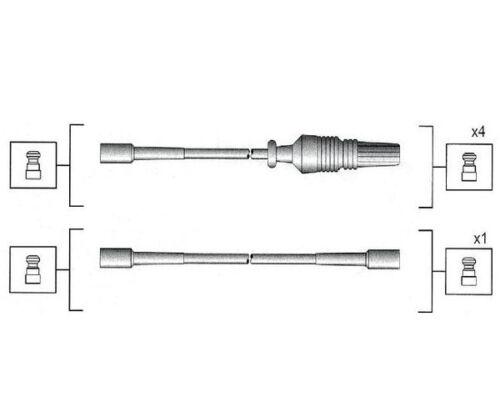 Zündleitungssatz cable de encendido peugeot 106 i 1.0 1.1 1.4 II 1.0i 205 i 1.1 1.4