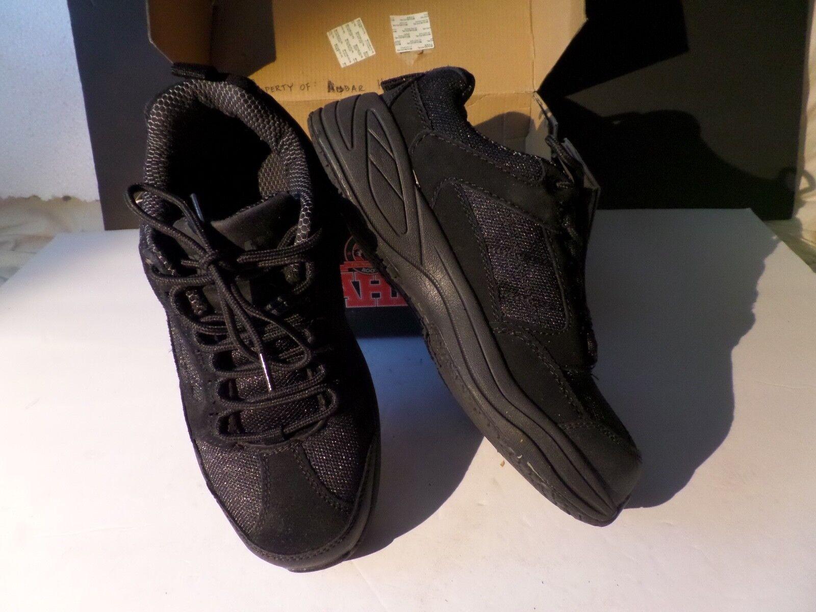 BRAHMA Adan Steel Toe Black Suede Work Industrial shoes Men's  7