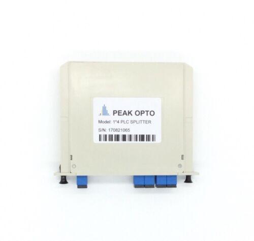 1X4 Blade optical splitter,PLC  carrier-class fiber optic splitter SC-UPC