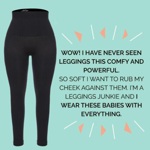 Women High Waisted Compression Leggings Tummy Control Body Shapewear Tone Pants