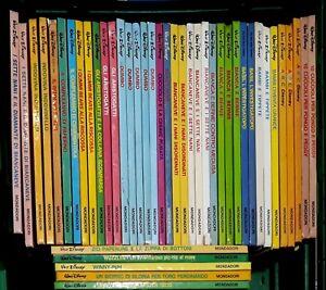Collezione-IMPARO-A-LEGGERE-CON-TOPOLINO-Mondadori-Disney-a-partire-da-8-cad