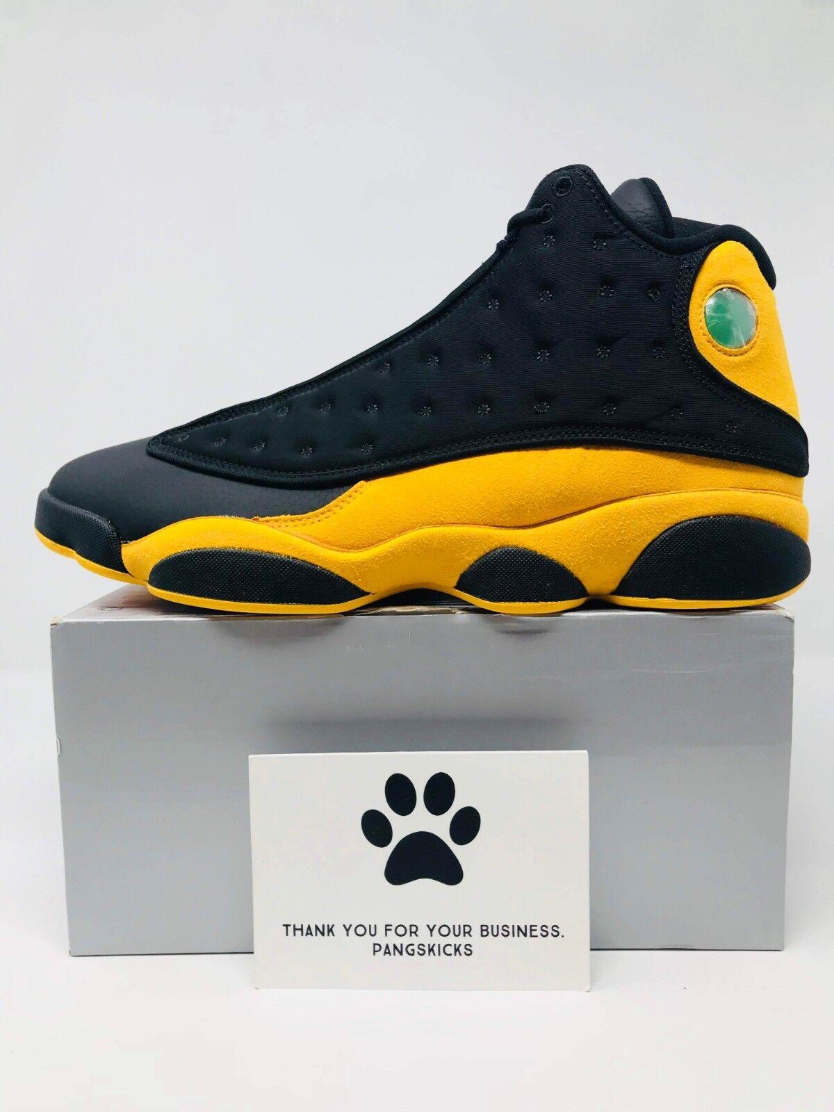 Nike Air Jordan 13 Retro 'Melo Class of 2002' Black 414571-035 Size 14