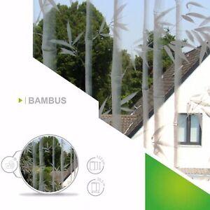 6 57 M Fensterfolie Sichtschutzfolie Bambus Deko Milchglasfolie
