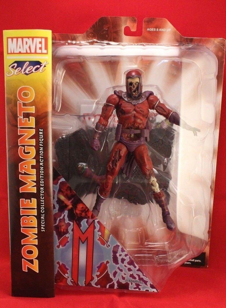 Zombie Magneto Marvel Select Villain Zombies Action Figure - UK Seller