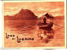 Lago di Lugano Album Ricordo con 48 vedute Veronesi um 1920 Bildalbum Luganersee
