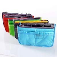 Women Travel Insert Handbag Organiser Purse Large liner Organizer Bag in Bag