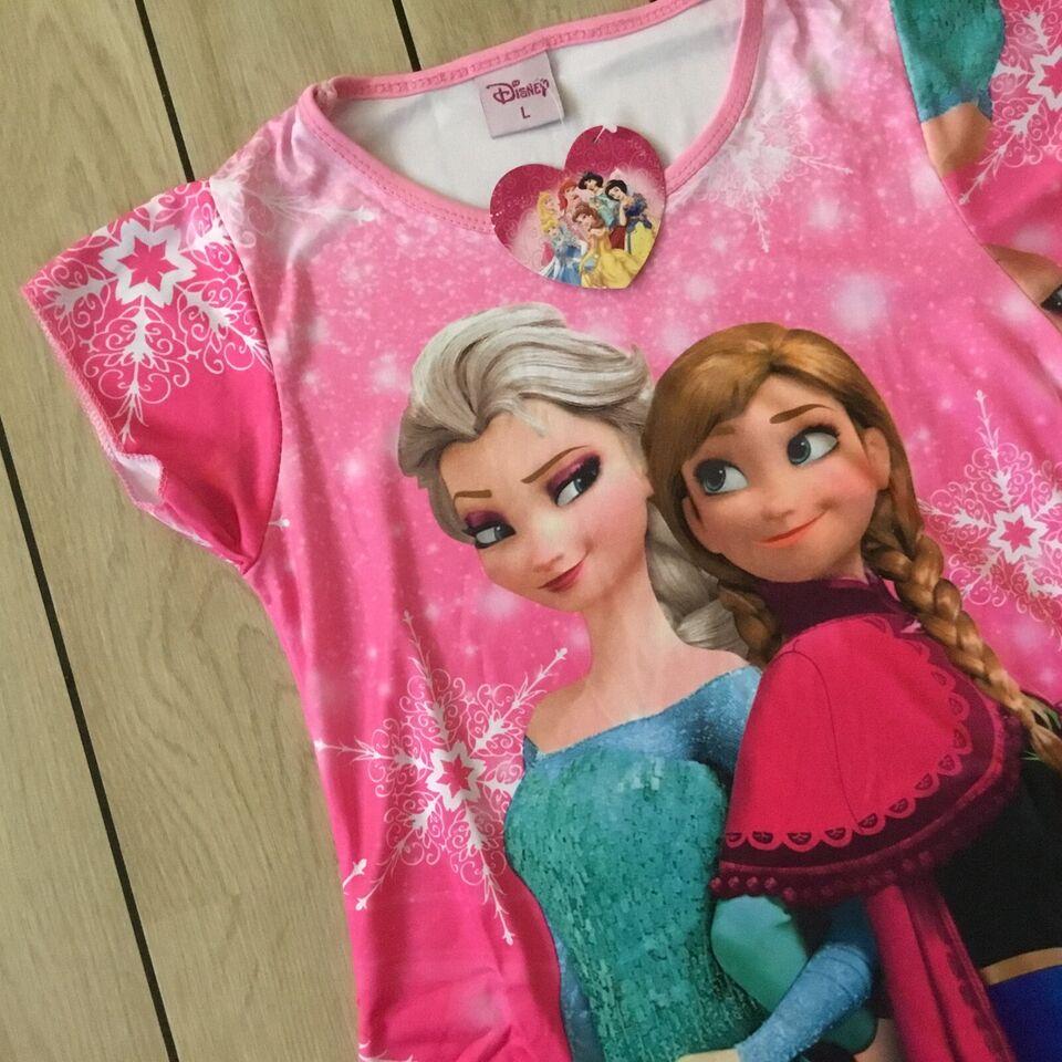 Kjole, Frost kjole str. 116, Frost kjole med Elsa og Anna