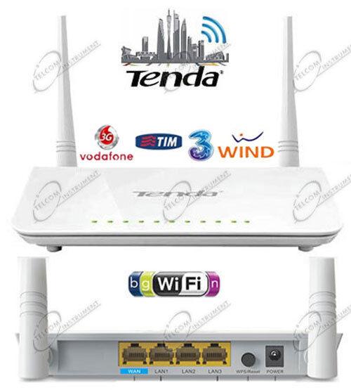 Router 4G Wi-Fi Tenda 4G630 per Chiavetta 4G LTE 3G Hsdpa Huawei Wireless