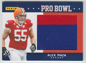 Details about 2012 PANINI FATHERS DAY PRO BOWL JERSEY CARD ALEX MACK BROWNS CALIFORNIA CAL # 3