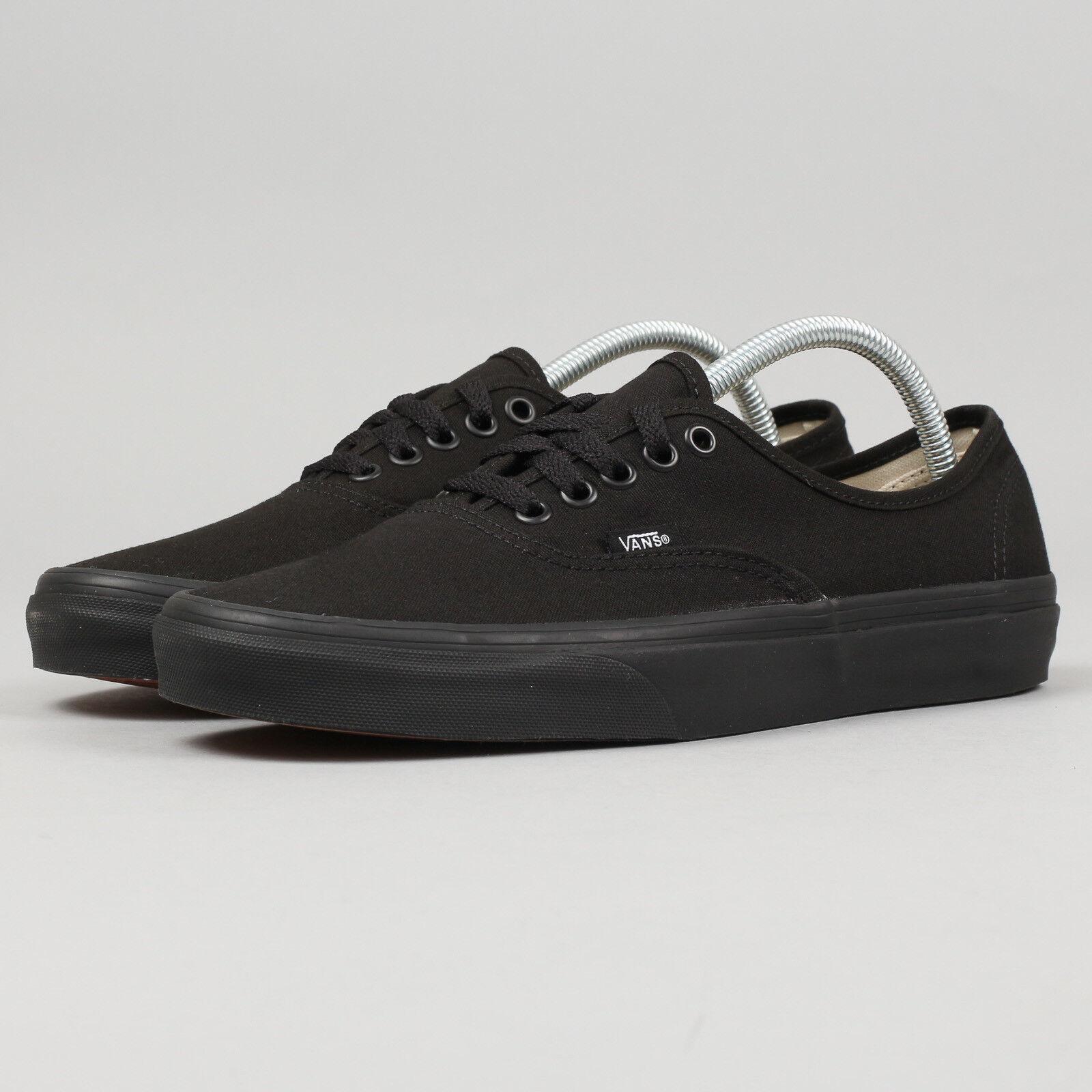 Vans Authentic noir / noir EU 42, Männer, Schwarz, VEE3BKA