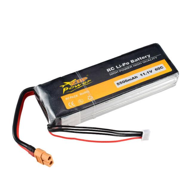 Turnigy 5000mAh 2S 7.4V XT90 Lipo Battery 3300 4000 6000 RC