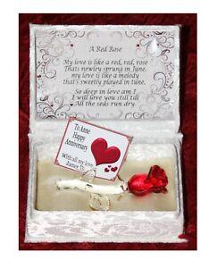 8 Anniversario Di Matrimonio.Regalo Personalizzato Anniversario Di Matrimonio Per Moglie