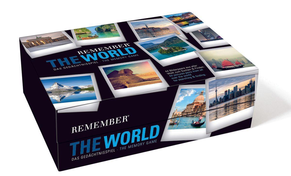 Remember Gedächnisspiel Gedächnisspiel Gedächnisspiel THE WORLD in der Magnetbox 66eb3f
