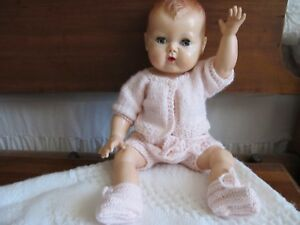SALE-NO-DOLL-KNIT-DOLL-SWEATER-ONLY-FITS-15-034-TINY-TEARS
