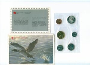Canada 1990 Proof Like PL Coin Set Envelope COA