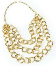 Chunky Necklace Gold Jewellery Gangsta Lemon Mr T Rapper Fancy Dress Accessory