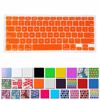 Thin Silicone Keyboard Cover Skin for Apple Macbook Air Pro Retina MAC 13 15 17
