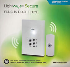 Lightwave LW2301 Wireless Plug-in White Smart Doorbell Chime Unit
