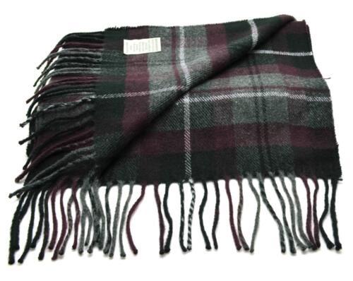 Winter Dockers Men/'s Women/'s Scarves Black Red Gray Plaid Fringe Fashion Scarf