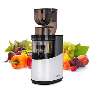 BioChef Atlas Whole Slow Juicer PRO - 400W   40 RPM, Wide Feed Juicer, Cold -