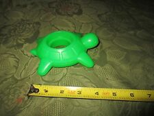 Fisher Price Little People Jumbo Figure Float Green Turtle Part Piece Toy Bath