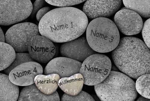 Paillasson les Pierres naturelles türmatte nom Lavable famille deco pierres lavasteine