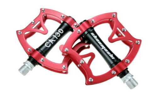 Aluminum Road MTB Mountain Bike Bicycle Pedal bearings Flat Cycling Pedals CA130