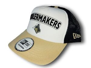 super popular 2b07e 31b91 Image is loading College-NCAA-Purdue-Boilermakers-Snapback-Baseball-Hat-Cap-
