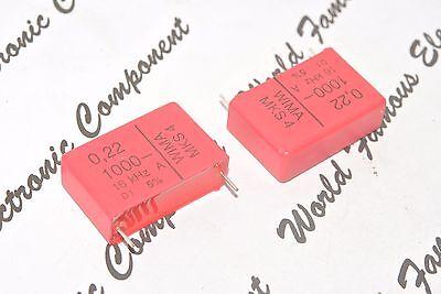 0,68µF 2pcs WIMA MKP4 0.68uF 1000V 5/% p:27.5mm Capacitor MKP4O136806G00JSSD