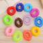 12sets bunte elastische Haargummis Band Pferdeschwanz Halter für Mädchen Kinder
