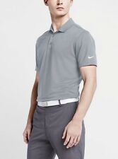 6a79bae45c55 item 4 Nike Golf Victory Solid Polo Shirt 725518-012 Grey White Size L -Nike  Golf Victory Solid Polo Shirt 725518-012 Grey White Size L