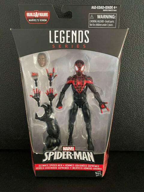 Hasbro Marvel Spider Man Legends Series Miles Morales ...