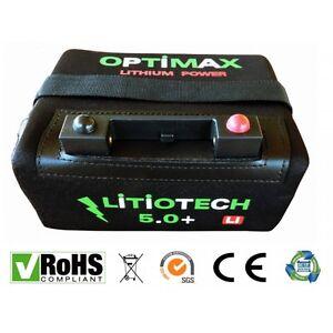 Bateria-Litio-Optimax-para-carro-de-golf-12v-18ah-con-cargador-y-cable-T-Bar