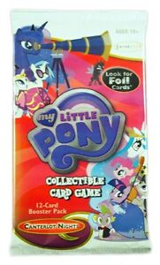 My Little Pony CCG, Canterlot Nights, 1 single Booster Pack, Free Shipping