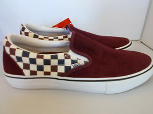 VANS-Classic-Slip-On-Pro-Multi-Port-Royale-Checkerboard-Shoes-Mens-Size-11-5-NIB