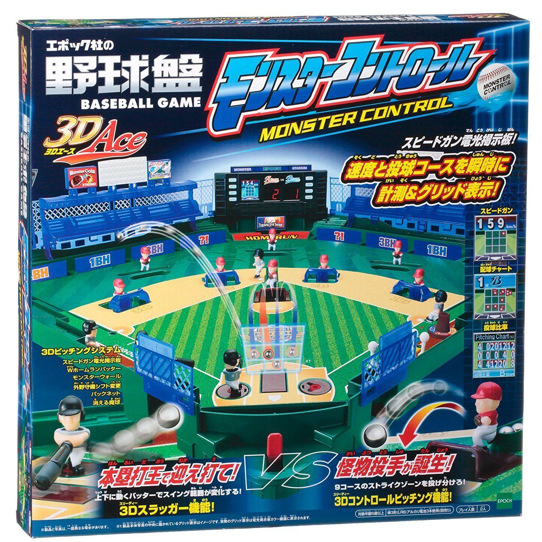 Nuevo Epoch Béisbol Tablero 3d Ace Montruo Control 2018 Versión Juego Japón