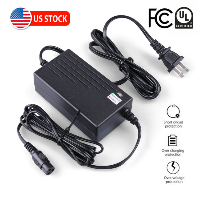 24V 2A Electric Scooter Battery Charger for Razor PR200 Turbo 350 Boreem Jia UL