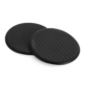 2pc-Black-Car-Vehicle-Water-Cups-Slot-Non-Slip-Carbon-Fiber-Look-Mat-Accessories