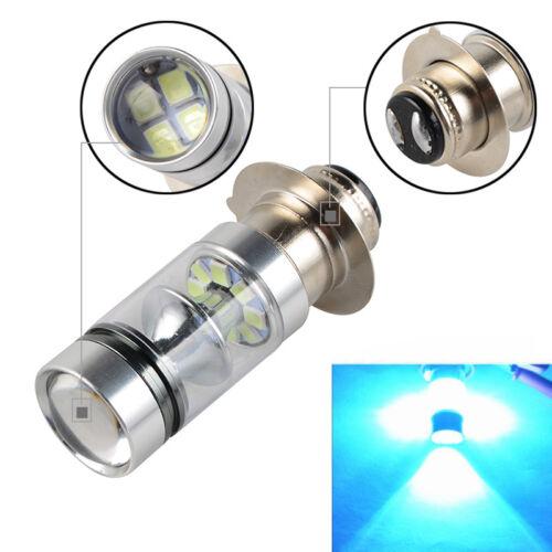 100W For Honda Rancher 350 TRX350TM 2000 2001 2002 2003 LED Headlight Bulbs Blue