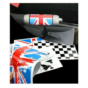 Union Jack Handbrake Decal Emblem Sticker For Mini Cooper