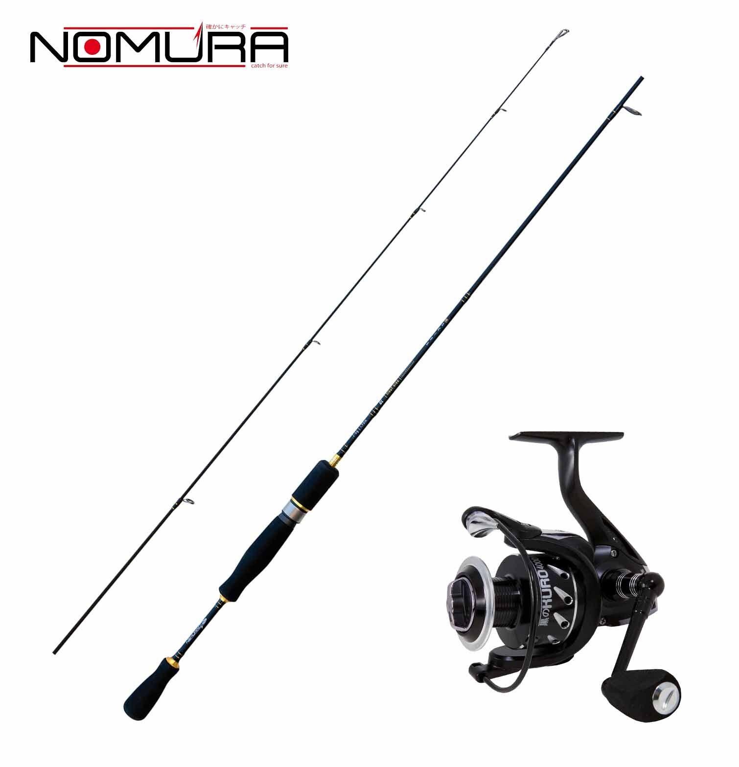 KP2164 Kit Trout Area Nomura Canna Akira 198 cm 2-6 Gr + Mulinello Kuro 100 CSP