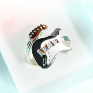 Fashion-Womens-Guitar-Punk-Ring-Colorful-Guitar-Ring-Musical-Finger-Ring-Jewelry