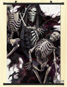Japan Anime Overlord albedo Home Decor Wall Scroll Decorate Poster 50x70cm D713