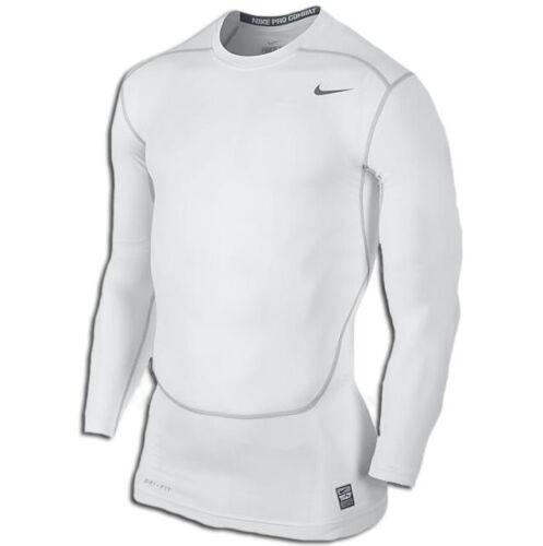 Nike Pro Core Compression 2.0 Top II T-Shirt men NEW 449794-100 white grey