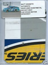 MATT KENSETH 2012 ZEST FORD LAS VEGAS AUTHENTIC NASCAR RACE USED SHEETMETAL #01
