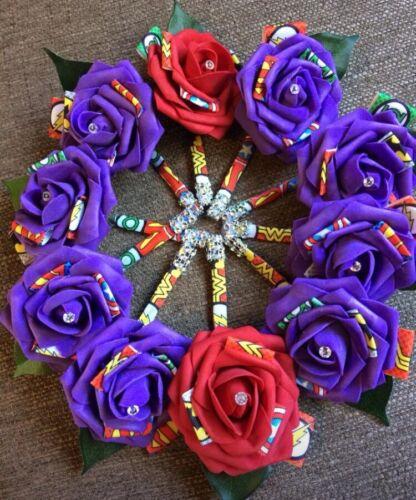 Marvel DC Wedding Flowers - Button Holes