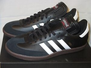 e50859c550f0 Details about NIB Men s 9 ADIDAS SAMBA CLASSIC SHOES Indoor Soccer 034563 BLACK  White GUM SOLE