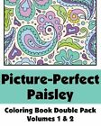 Picture-Perfect Paisley Coloring Book Double Pack (Volumes 1 & 2) by H R Wallace Publishing, Various (Paperback / softback, 2014)