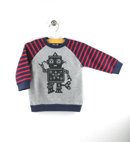 NWT HOOTKID  Wind Him Up Lightweight Sweatshirt